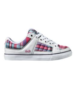 DVS Brody White Plaid Leather Παπουτσια