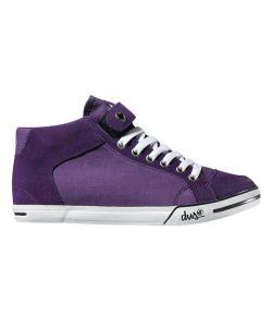 DVS Farah Mid Purple Canvas Women's Shoes