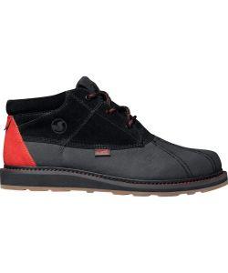 DVS Hawthorne Snow Black Leather Men's Shoes