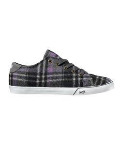 DVS Jax Grey Plaid Women's Shoes