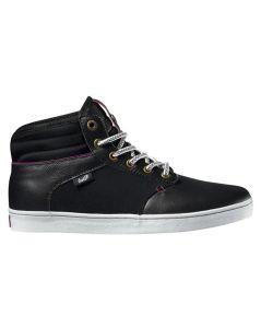 DVS Knox Black Leather Women's Shoes