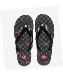 DVS Peso Graphics Black Hart Women's Sandals