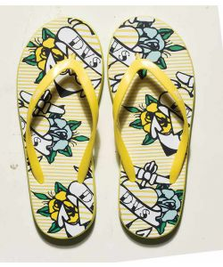 DVS Peso Graphics Yellow Women's Sandals