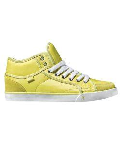 DVS Rana Mid Yellow Satin Women's Shoes