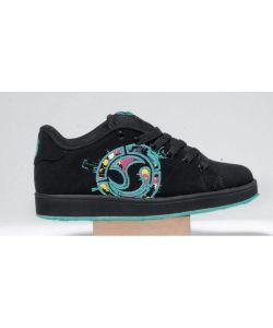 DVS Revival Splat Black Paint Women's Shoes