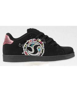 DVS Revival Splat Fa Black Neon Nubuck Women's Shoes