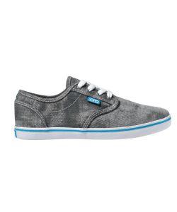 DVS Rico Ct Black Acid Wash Twill Women's Shoes