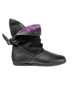 DVS Shiloh Black Combo Flannel Women's Shoes