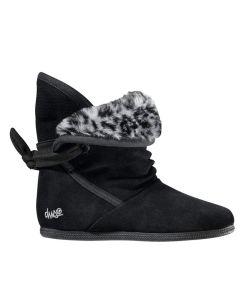 DVS Shiloh Black Suede Women's Shoes