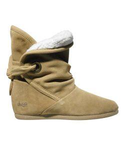 DVS Shiloh Tan Suede Sherpa Women's Shoes