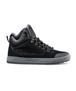 DVS Vanguard+ Black Black Suede Ettala Men's Shoes