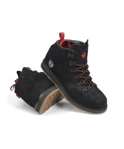 DVS Yodoler Black Red Suede Snow Men's Shoes