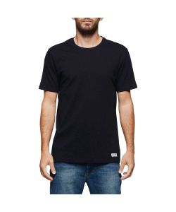 ELEMENT BASIC CREW FLINT BLACK T-SHIRT