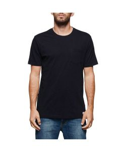 ELEMENT BASIC POCKET CREW FLINT BLACK T-SHIRT