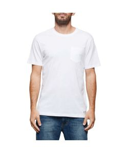 Element Basic Pocket Crew Optic White Men's T-Shirt