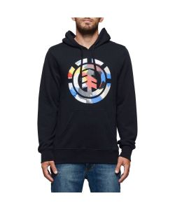 Element Cut Out Icon Flint Black Men's Hoodie
