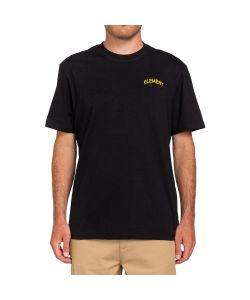 Element x Peanuts Emerge Flint Black Ανδρικό T-Shirt