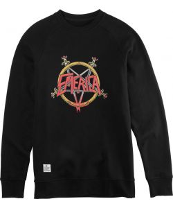 EMERICA ARROWS CREWNECK BLACK ΦΟΥΤΕΡ