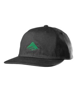 Emerica Classic Snapback Black Green Hat