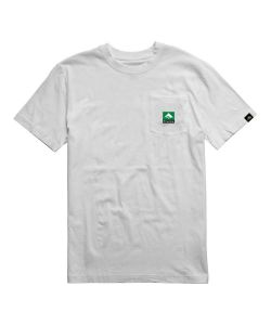 Emerica Combo Pocket White Men's T-Shirt