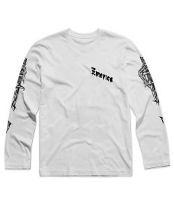 Emerica Dagger Sleeves White Men's Long Sleeve T-Shirt