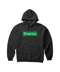 Emerica Pure Bar Black Men's Hoodie