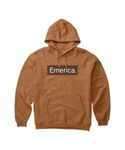 Emerica Pure Bar Brown Ανδρικό Φούτερ Κουκούλα