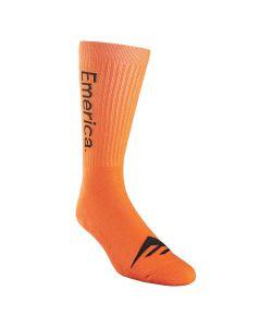 Emerica Pure Crew Orange Socks