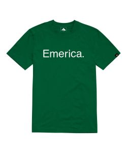 EMERICA PURE GREEN T-SHIRT