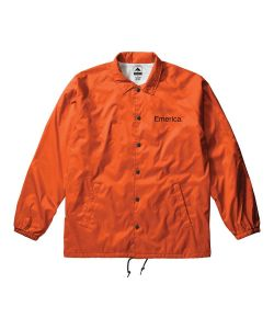 Emerica Pure Logo Coaches Jacket Orange
