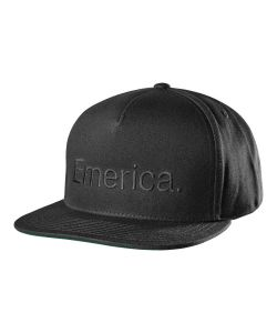 Emerica Pure Snapback Black Hat