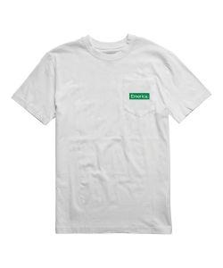 Emerica Pure Triangle Pocket White Men's T-Shirt