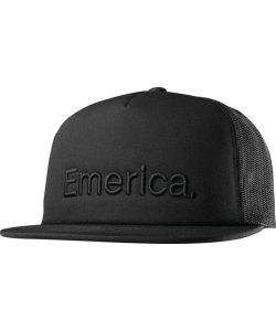 Emerica Pure Trucker Black Hat