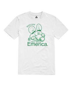 Emerica Skate Rat White Men's T-shirt