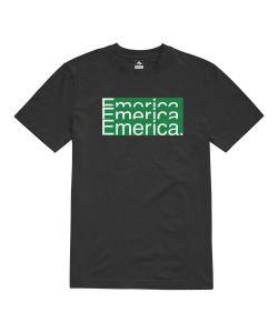 Emerica Stacked Bar Black Ανδρικό T-Shirt