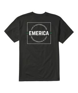 Emerica Statement Black Men's T-shirt