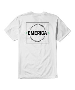 Emerica Statement White Ανδρικό T-Shirt