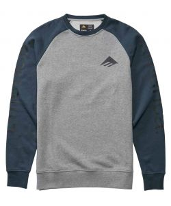 EMERICA TRI PURE CREWNECK GREY NAVY ΦΟΥΤΕΡ