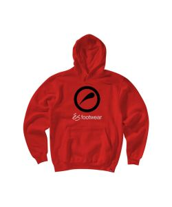 Es Accent Red Men's Hoodie