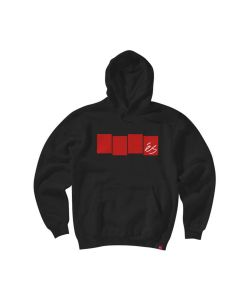 Es Block Flag Black Men's Hoodie