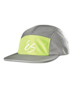 Es Block HD Camper White Green Hat