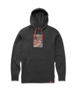 Es Block Tech Black Men's Hoodie