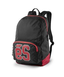 Es Dome Black Backpack