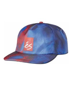 Es Hyper Beauty 6-Panel Clipback Red Blue Καπέλο
