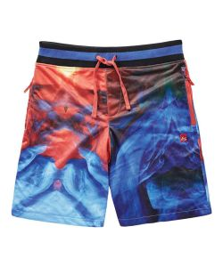 Es Hyper Beauty Shorts Red Blue