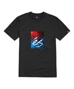 Es Hyper Logo Black Men's T-shirt
