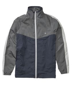 Es Laps Mock Neck Navy/Grey Windbreaker