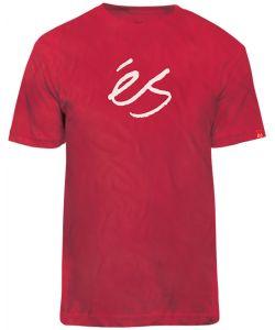 eS MID SCRIPT TECH RED T-SHIRT