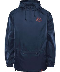 eS PACKABLE ANORAK NAVY ΑΝΤΙΑΝΕΜΙΚΟ
