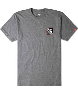 Es Rogan Grey Heather Men's T-Shirt